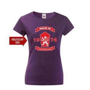 Dámske retro tričko s levom a znakom ČSSR - doprava len 2,23 Euro