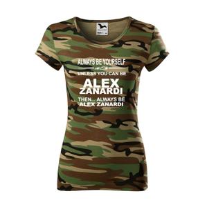 Dámské tričko - Alex Zanardi