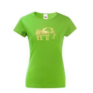 Dámské tričko  Elephant - Ideálne tričko pre cestovateľov