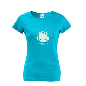 Dámske tričko Groot z filmu Strážcovia galaxie - Ja som Groot na tričku