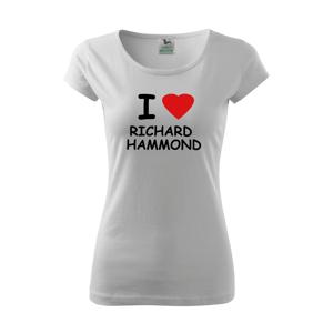 Dámské tričko I love Richard Hammond