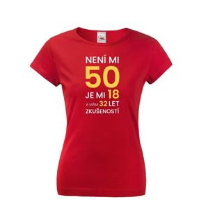 Dámské tričko k 50 narodeninám