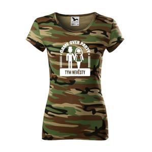 Dámské tričko na rozlúčkovú párty Game over - ideálne na rozlúčenie so slobodou