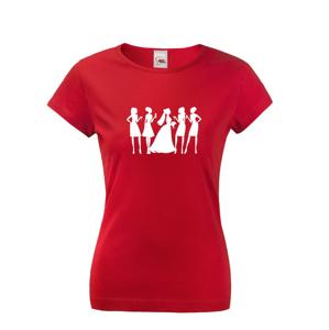 Dámske tričko na štýlovú rozlúčkovú párty - možná dotlač mena či roku