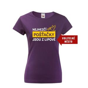 Dámske tričko Najkrajšie poštárky sú z...