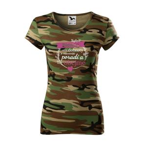 Dámske tričko najlepšia babička - ideálny darček k narodeninám pre babičku