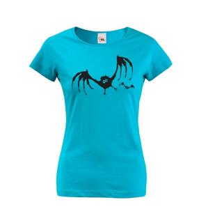 Dámské tričko Netopier - odvážné tričko