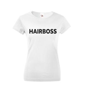 Dámske tričko pre kaderníčky - Hairboss