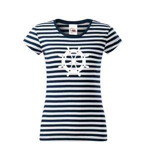Dámske tričko pre zadákov - tričko na vodu pre kapitánku lode