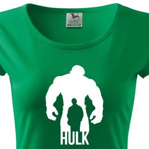 Dámské tričko s motivem oblíbeného seriálu Hulk