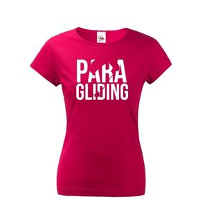 Dámské tričko s motivem paragliding - ideální dárek k Vánocům