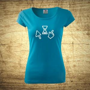 Dámske tričko s motívom Icons