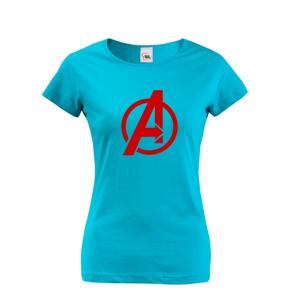 Dámske tričko s populárnym motívom Avengers