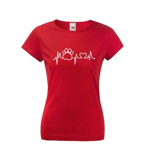 Dámske tričko s potlačou Tep v mačky - skvelý darček
