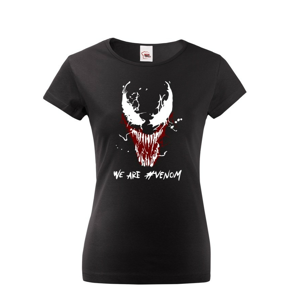 Dámské tričko s potlačou Venom od Marvel - ideálny darček pre fanúšikov