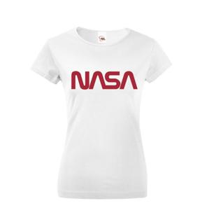 Dámske tričko s potlačou vesmírnej agentúry NASA