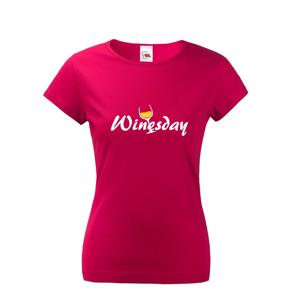 Dámské tričko s vtipným potiskem Winesday - triko nejen k vínu