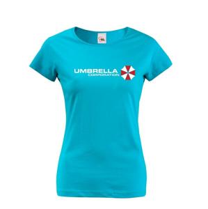 Dámske tričko Umbrella Corporation - tričko zo série Resident Evil