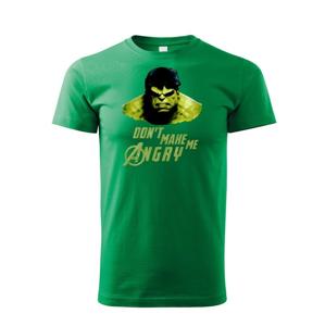 Dětske tričko Hulk 2 z týmu Avengers v celofarebnom prevedení