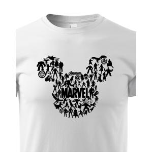 Detské tričko Mickey Marvel - marvelovské tričko pre deti
