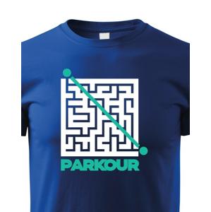 Detské tričko - Parkour bludisko