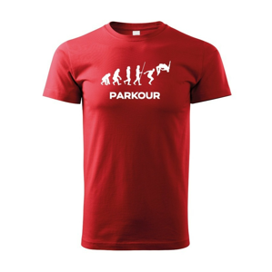 Detské tričko - Parkour evolúcia
