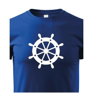 Detské tričko pre zadákov - tričko na vodu pre malého kapitána lode