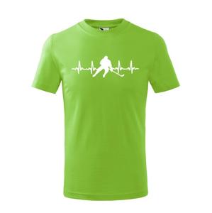 Detské tričko Pulz hokejistu - ideálny darček pre hokejistu