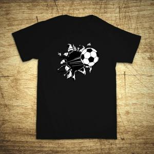 Detské tričko s motívom Futbal
