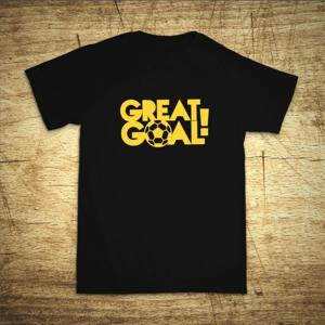 Detské tričko s motívom Great goal