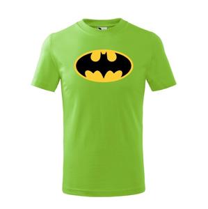 Detské tričko s potlačou Batman - obľúbené komiksové tričko