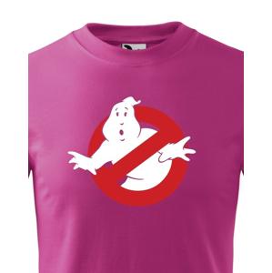 Detské tričko s potlačou Krotitelia duchov - Ghostbusters