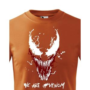 Detské tričko s potlačou Venom od Marvel - ideálny darček pre fanúšikov