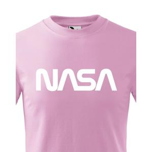 Detské tričko s potlačou vesmírnej agentúry NASA