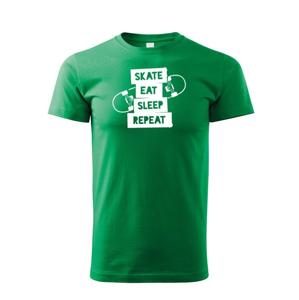 Detské tričko Skate-eat-sleep-repeat - ideálny darček