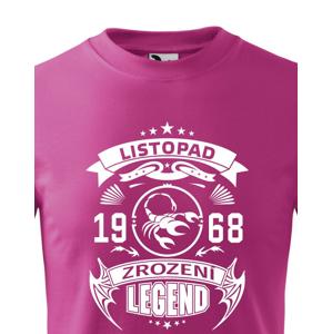 Detské tričko Zrodenie legendy - ideálny narodeninový darček
