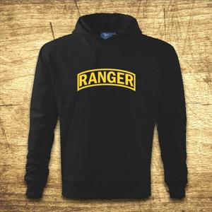 Mikina s kapucňou s motívom Ranger