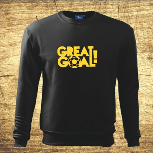 Mikina s motívom Great goal