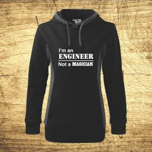 Mikina s motívom I am an engineer