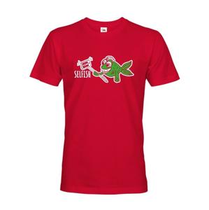 Originálne tričko s potlačou Selfish - ideálna vtipná potlač