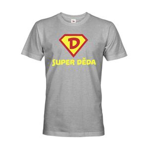 Originálne tričko s potlačou super dedko - skvelý darček pre starého otca
