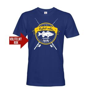 Originální tričko pro rybáře k narozeninám - volitelný rok na přání