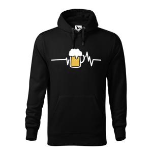 Pánska mikina s potlačou pivo pre každú príležitosť