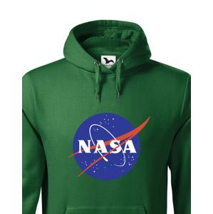 Pánska mikina s potlačou vesmírnej agentúry NASA