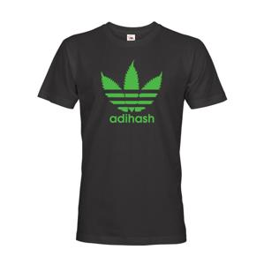 Pánské tričko Adihash - tričko s motivem marihuany