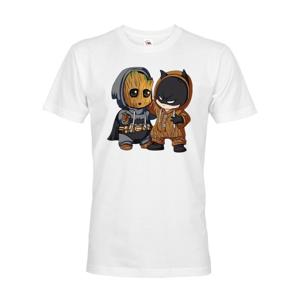 Pánské tričko Batman a Groot - ideálny darček