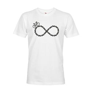 Pánske tričko Cyklistické nekonečno - ideálne tričko pre cyklistov