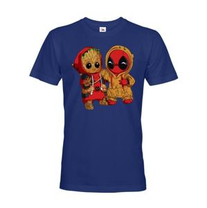 Pánske tričko Deadpool a Groot - super darček