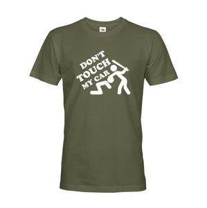 Pánske tričko Don't touch my Car - ideálne tričko pre Petrolheadov