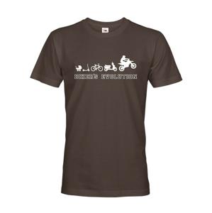 Pánske tričko Evolúcia motorkára - Biker`s Evolution